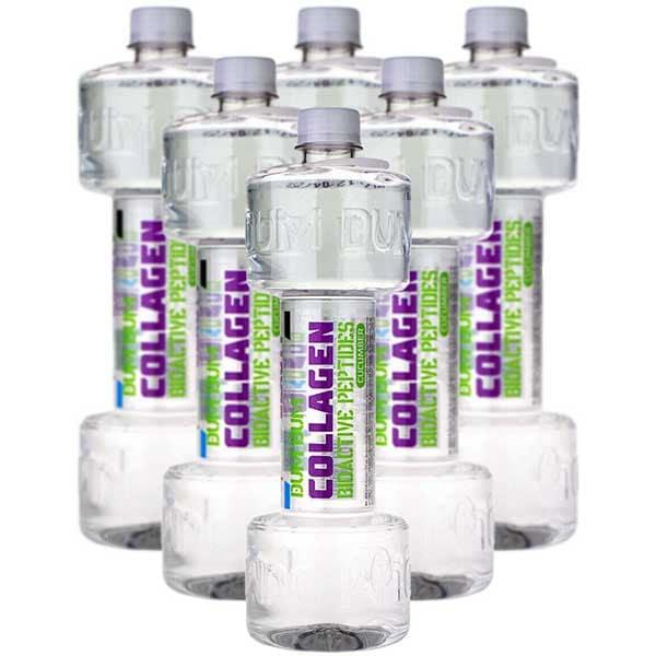 Apa cu vitamine DUM DUM Fitness Collagen Peptides Cucumber bax 0.7L x 6 sticle
