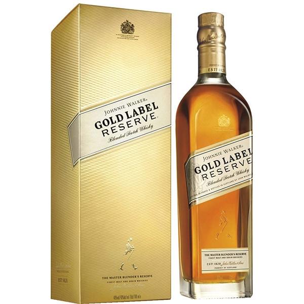 Whisky Johnnie Walker Gold Label Reserved, 0.7L