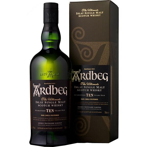 Whisky Ardbeg 10 Yo, 0.7L