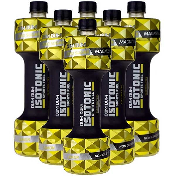 Apa cu vitamine DUM DUM Isotonic Sports Fuel Lemon&Magnesium bax 0.7L x 6 sticle