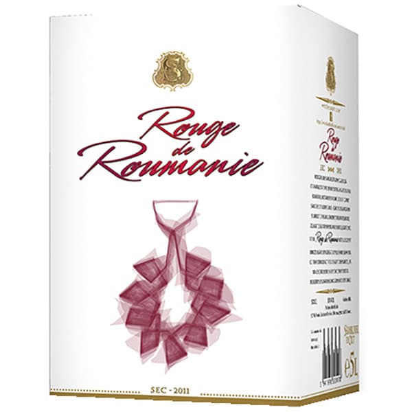 Vin rosu sec SAMBURESTI Rouge de Roumanie, 5L, Bag in Box
