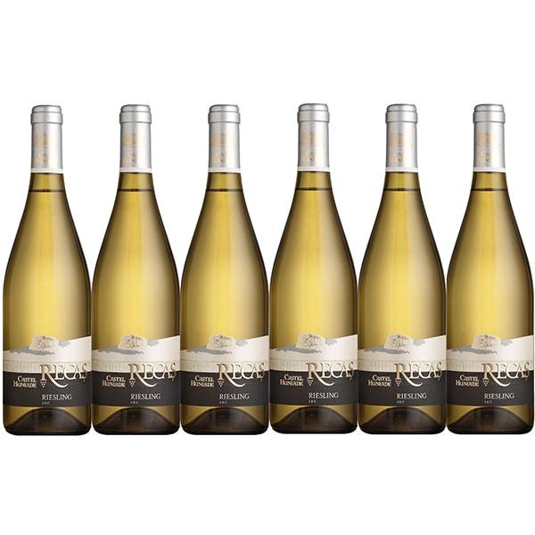 Vin alb sec Cramele Recas Castel Huniade Riesling, 0.75L, 6 sticle