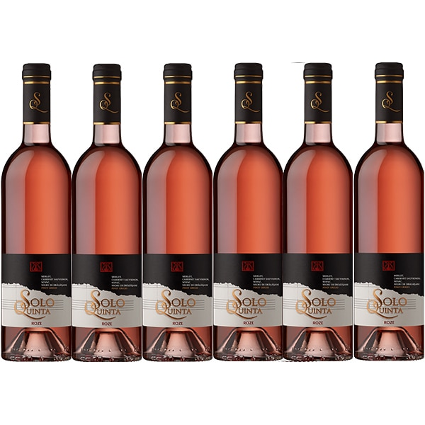 Vin rose sec CRAMELE RECAS Solo Quinta, 0.75L, 6 sticle