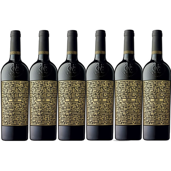Vin alb sec Mysterium Traminer si Sauvignon Blanc, 0.75L, 6 sticle