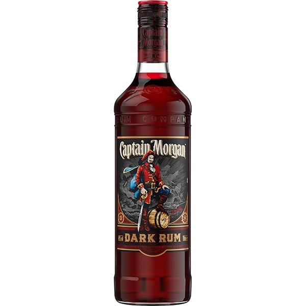 Rom Captain Morgan Dark Rum, 0.7L