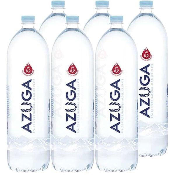 Apa plata alcalina AZUGA bax 2L x 6 sticle