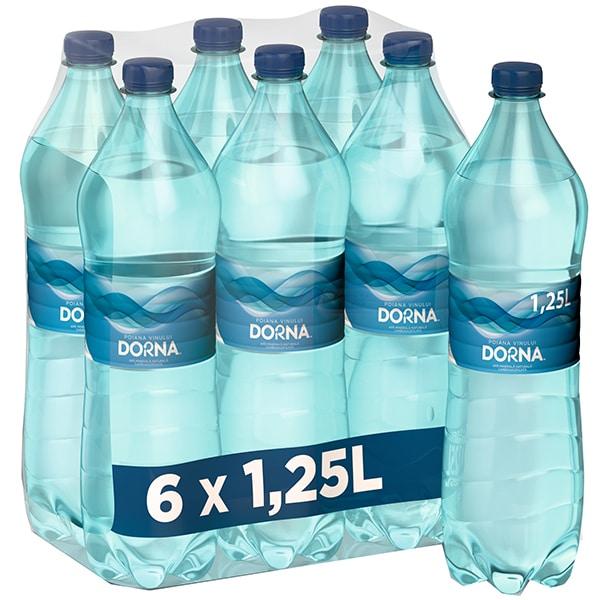 Apa minerala DORNA Poiana vinului bax 1.25L x 6 sticle
