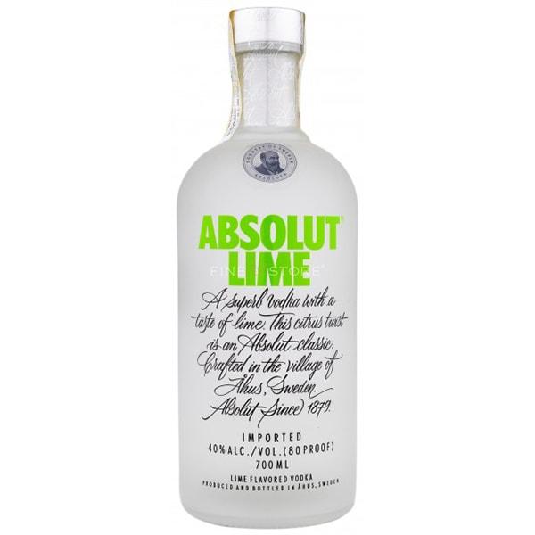 Vodka Absolut Lime, 0.7L