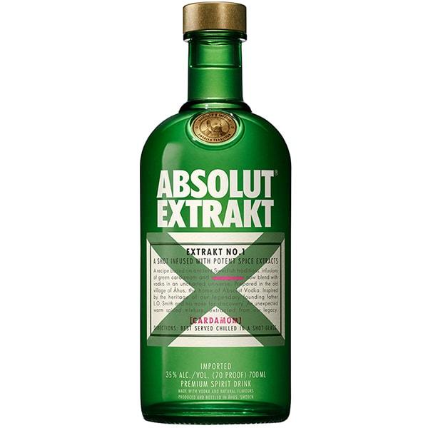 Vodka Absolut Extrakt, 0.7L