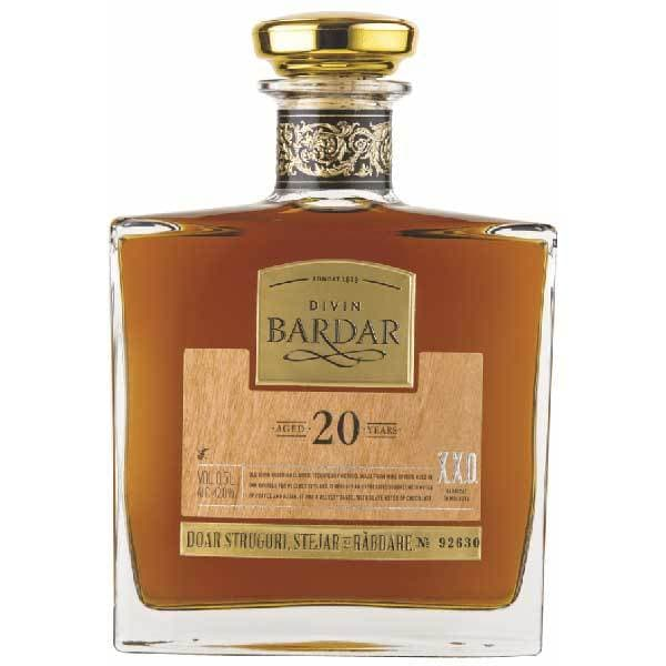 Brandy Divin Bardar Platinum 20 Ani Vechime, 0.5L