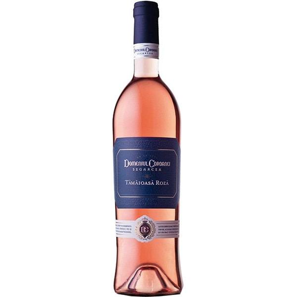 Vin rose demidulce Domeniul Coroanei Segarcea Prestige Tamaioasa Roza, 0.75L