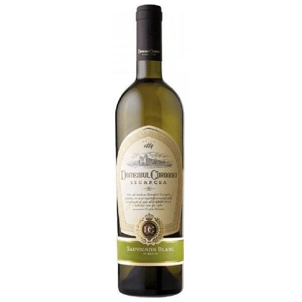 Vin alb sec Domeniul Coroanei Segarcea Elite Sauvignon Blanc, 0.75L