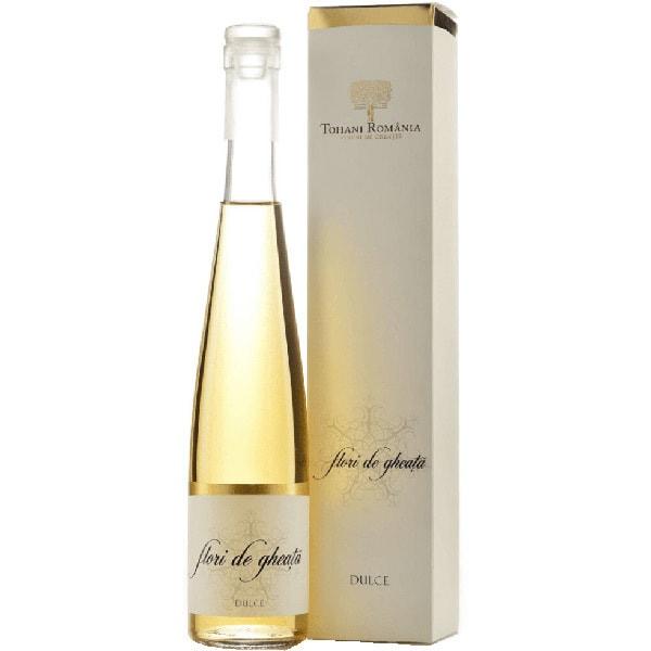 Vin alb dulce Tohani Flori De Gheata, 0.375L