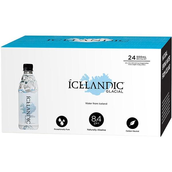 Apa plata ICELANDIC bax 0.5L x 24 sticle