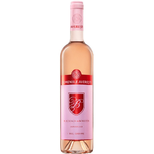 Vin rose demidulce Averesti Regala Busuioaca de Bohotin, 0.75L