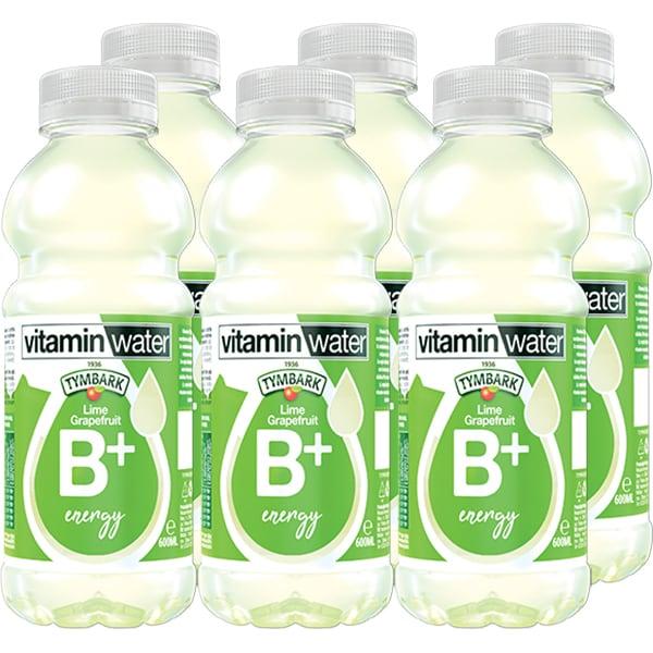 Apa cu vitamine TYMBARK Lime Grapefruit B+ bax 0.6L x 6 sticle