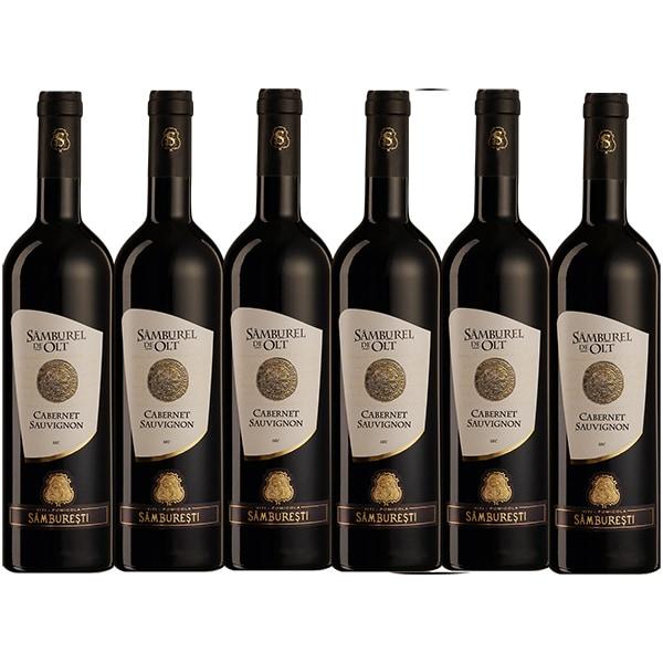 Vin rosu sec Samburel de olt Cabernet Sauvignon, 0.75L, 6 sticle