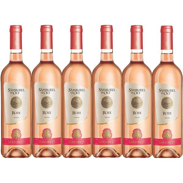 Vin rose Samburel de Olt Roze, 0.75L, 6 sticle