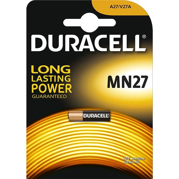 Baterie alcalina DURACELL MN27, Long Lasting Powe, 12V