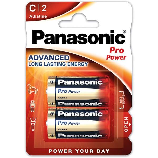 Baterii PANASONIC Pro Power Gold Alkaline LR14/C, 2 bucati
