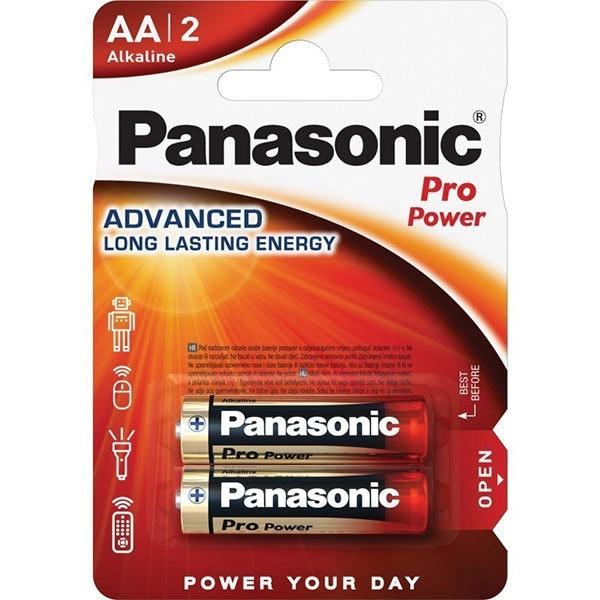 Baterii PANASONIC Pro Power Gold Alkaline LR6/AA, 2 bucati