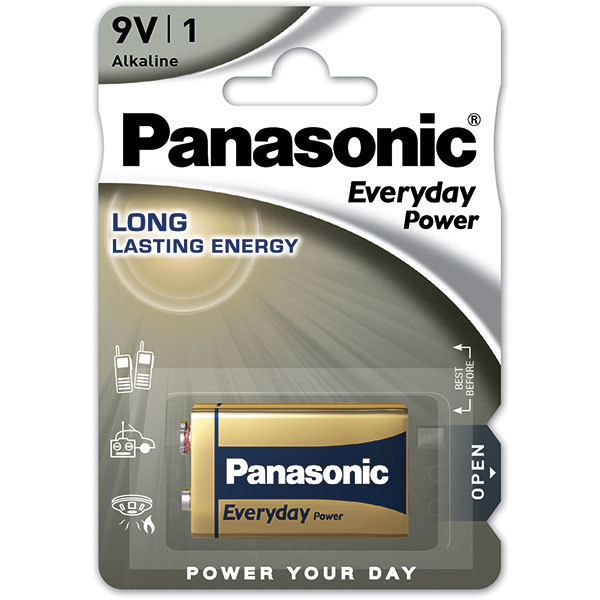 Baterie PANASONIC Everyday Power 6LF22/9V