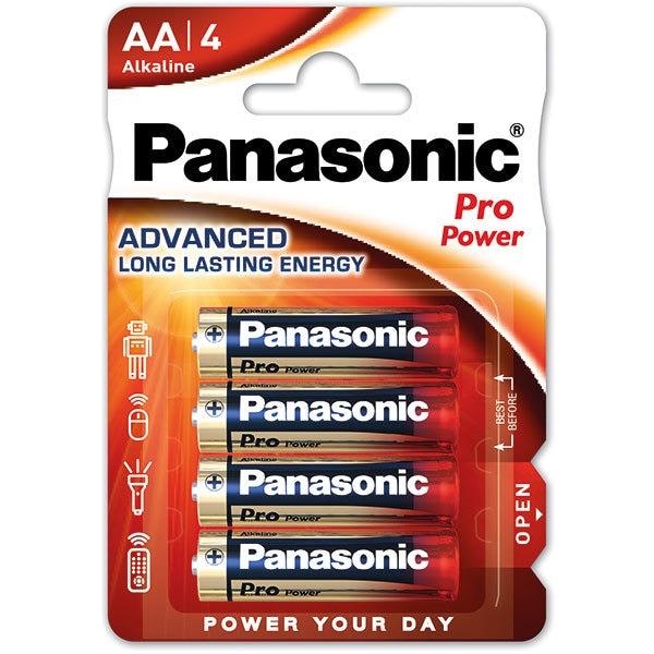 Baterii PANASONIC Pro Power Gold Alkaline LR6/AA, 4 bucati