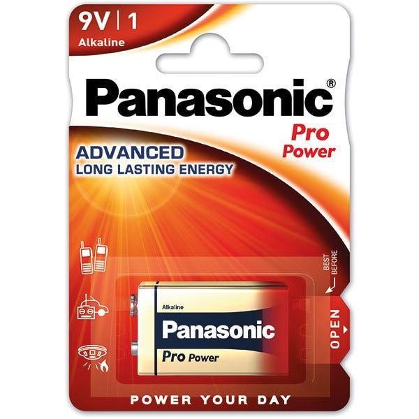 Baterie PANASONIC Pro Power Alkaline 6LF22/9V