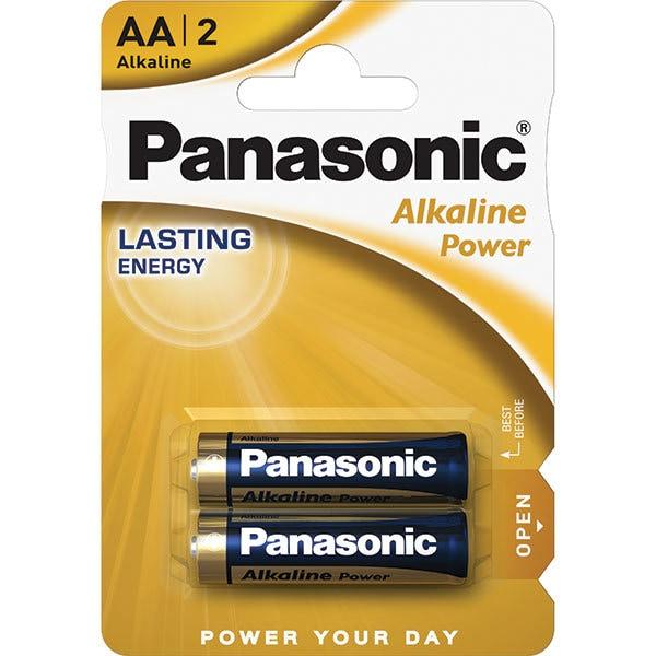 Baterii PANASONIC Alkaline Power Bronze LR6/AA, 2 bucati
