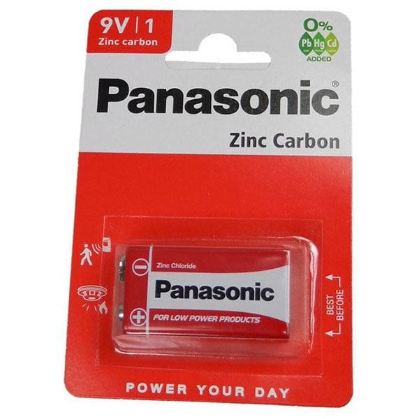 Baterie PANASONIC Red Zinc 6F22RZ/9 V