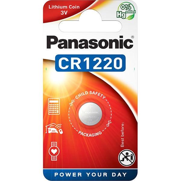 Baterie PANASONIC Lithium Coin CR-1220L