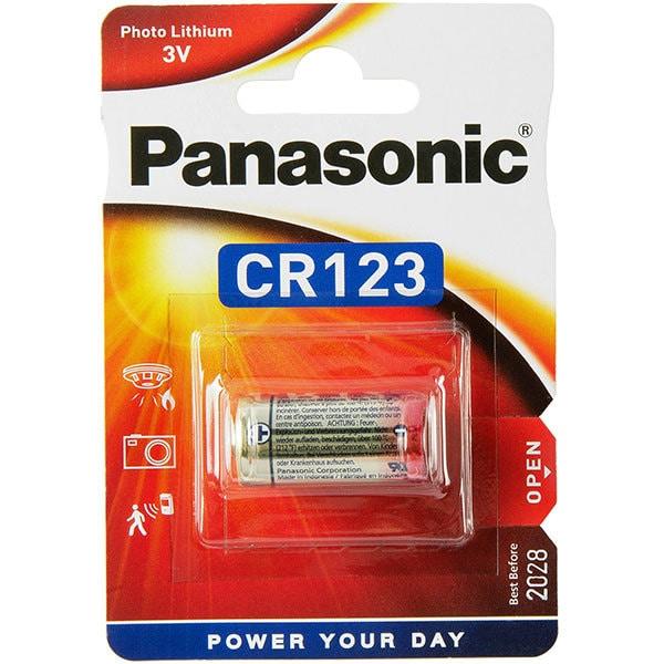 Baterie PANASONIC Photo Lithium CR-123