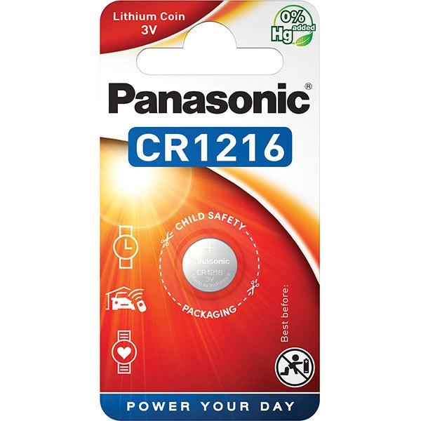 Baterie PANASONIC Lithium Coin CR-1216L