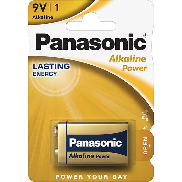 Baterie PANASONIC Alkaline PowerBronze 6LF22/9 V
