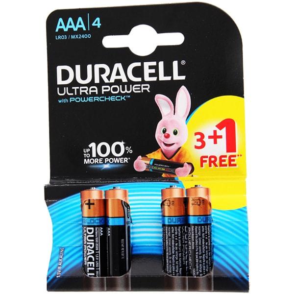 Baterii DURACELL AAAK4 Ultra Max, 3+1 bucati