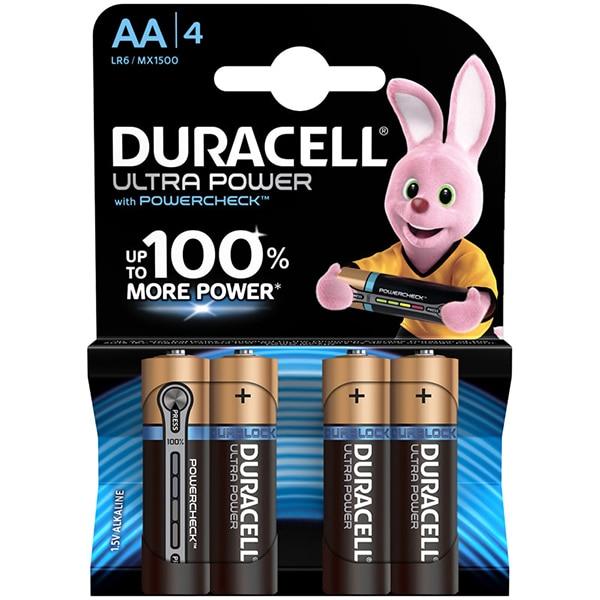 Baterii DURACELL AAK4 Ultra Max, 4 bucati