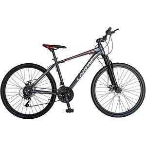 """Bicicleta de munte CARPAT Montana C2699A, 26"""", cadru aluminiu, gri-rosu"""