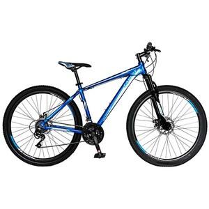 """Bicicleta Mountain Bike-HT CARPAT Spartan C2758C, 27.5"""", cadru aluminiu, albastru-gri"""
