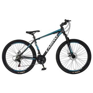 """Bicicleta de munte CARPAT C2758C, 27.5"""", cadru aluminiu, negru-alb -albastru"""