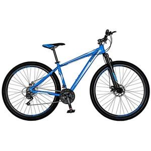 "Bicicleta Mountain Bike-HT CARPAT Spartan C2958C, 29"", cadru aluminiu, albastru-alb"