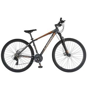 """Bicicleta Mountain Bike-HT CARPAT C2970C, 29"""", cadru aluminiu, negru-portocaliu"""