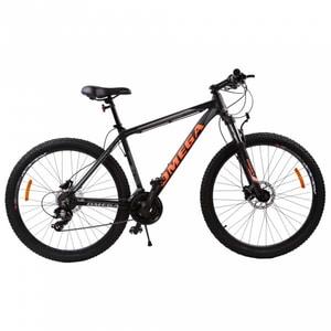 "Bicicleta Mountain Bike OMEGA Duke, 27.5"", negru-rosu-albastru"