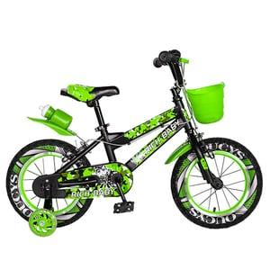 "Bicicleta copii RICH R14WTA, 14"", verde"
