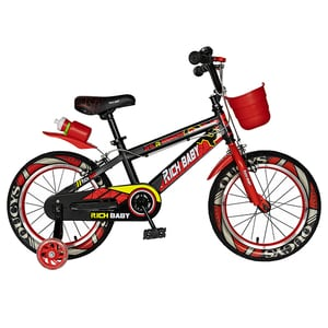 """Bicicleta copii RICH R14WTB, 14"""", rosu"""