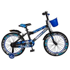 "Bicicleta copii RICH R18WTA, 18"", albastru"