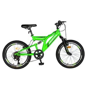 """Bicicleta copii RICH R2049A, 20"""", verde"""