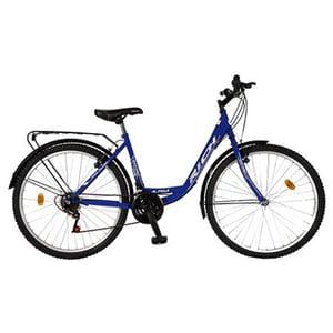 """Bicicleta de Trekking RICH Sport R2632A, 26"""", cadru otel, albastru"""