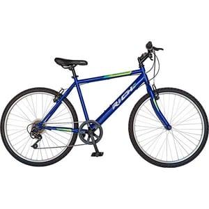 """Bicicleta de munte RICH 2673, 26"""", cadru otel, albastru-verde"""