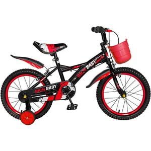 "Bicicleta copii RICH BABY TC-04, 16"", rosu"