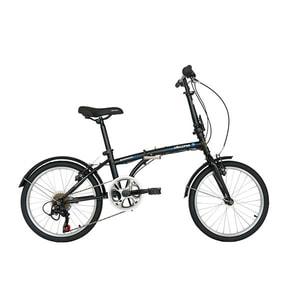 "Bicicleta pliabila VELORS Advantage V2054B, 20"", cadru otel, negru-albastru"